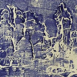 Holz und Linolschnitt