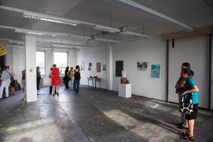 Abschluss Präsentation in der Freien Kunstakademie Frankfurt - Sommer 2014