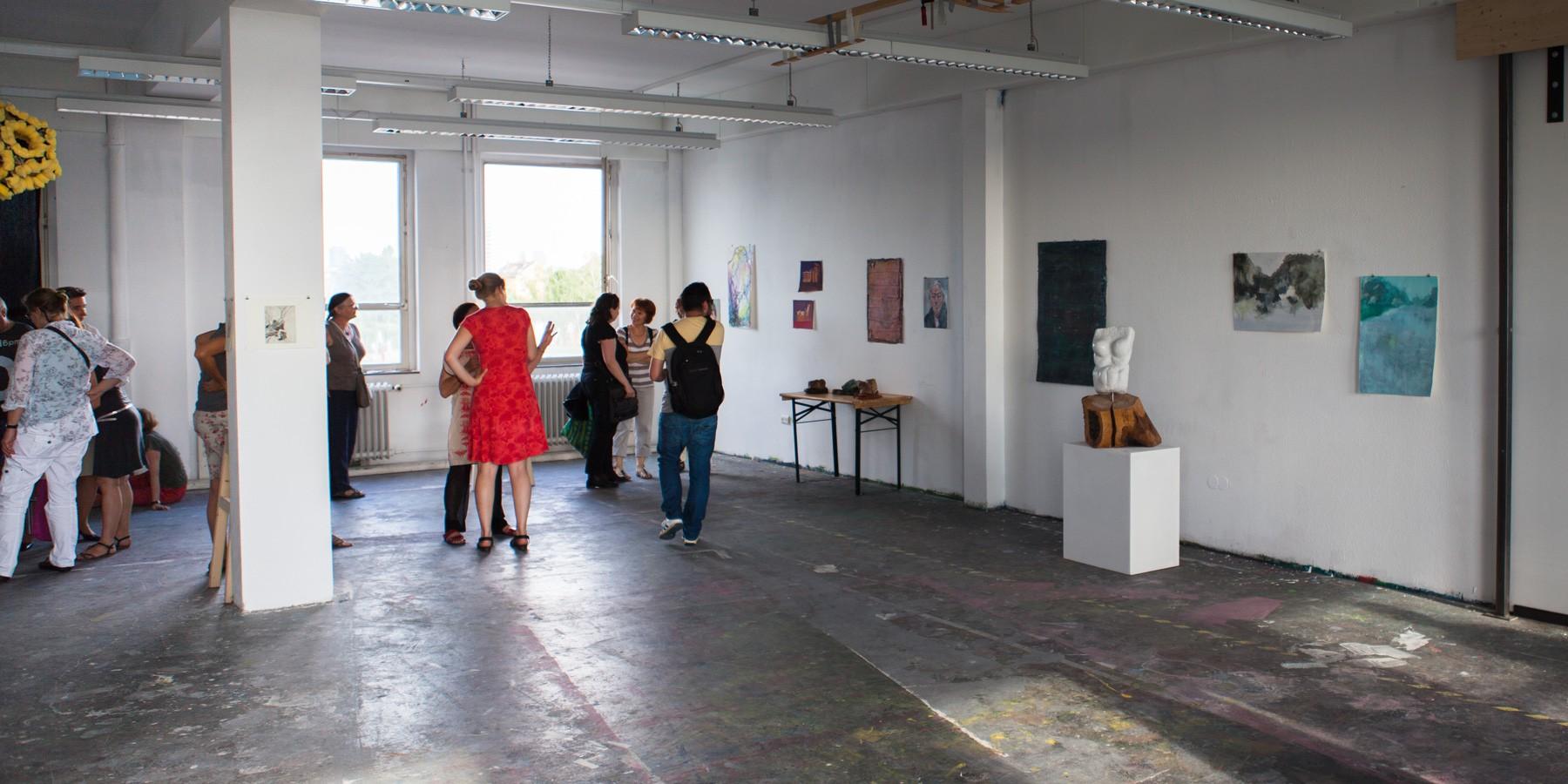 Abschluss Präsentation der Freien Kunstakademie Frankfurt