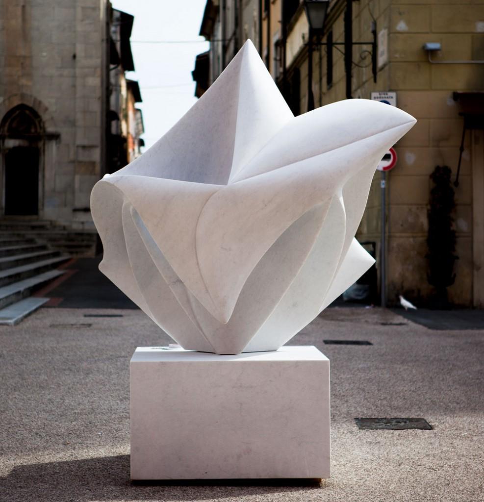 Pietrasanta Skulptur - Piazza dell Duomo