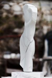 """Ansicht 3: Marmorskulptur """"Fabiola"""""""