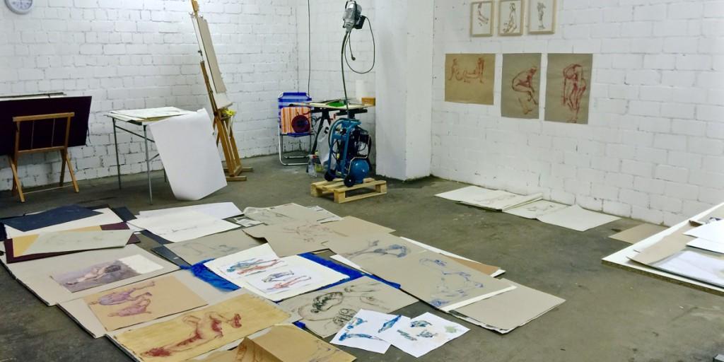Bildhaueratelier Hanna Gigling Frankfurt