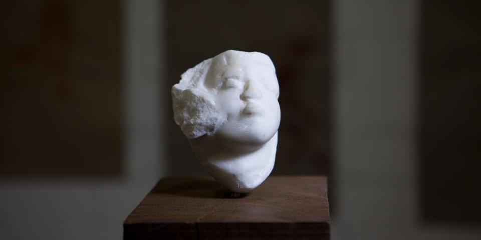 Marmor Skulptur von Hanna Gigling